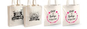 tote bag personnalise a ses invites